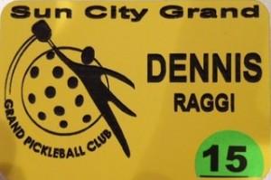 Image of Grand Pickleball Badge